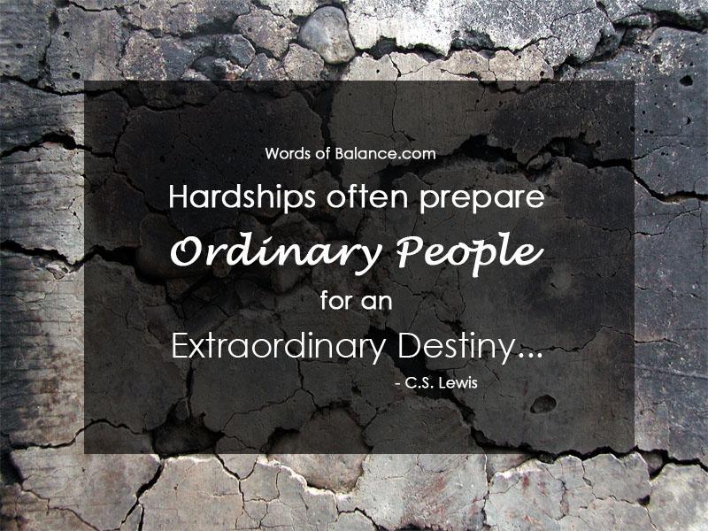 Hardships future motivate motivation creation inspire