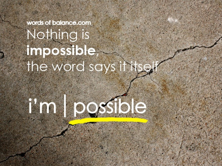 nothing, impossible, possible, health, fitness,motivate, motivation, ispire, inspiration, creation, believe, fitness